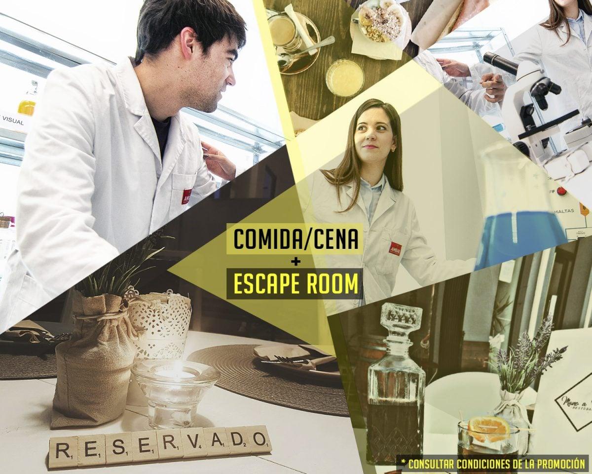 ESCAPE ROOM + COMIDA/CENA NAVIDEÑA