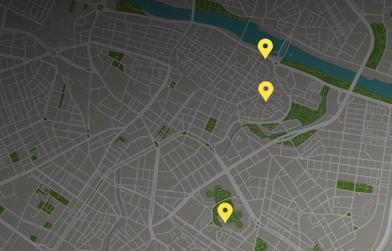 Zaragoza ubicaciones